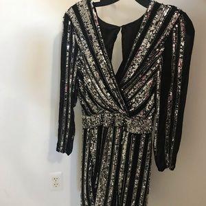 Parker Dresses - Parker Black women's sequins and mesh dress✨